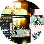 Photo of Design for All Foundation posters collage