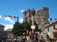 Photo of Penedono during its annual medieval festival