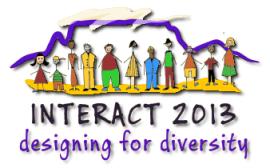 INTERACT 2013 logo