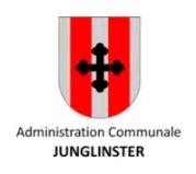 Écu de la commune de Junglinster