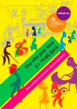 Image of front cover of the programme for Une Ville pour Tous